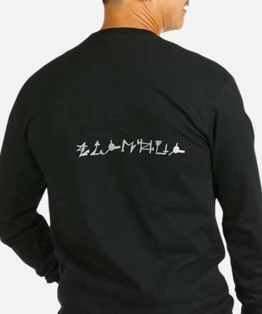 Vishous Old Language Dark Long Sleeve T-Shirt