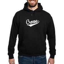 Crowe, Retro, Hoodie