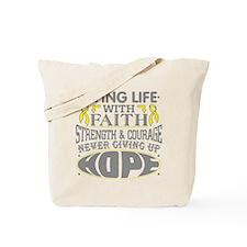 Sarcoma Faith Tote Bag