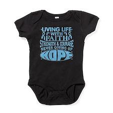 Prostate Cancer Faith Baby Bodysuit
