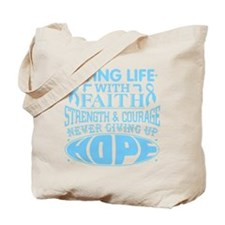 Prostate Cancer Faith Tote Bag