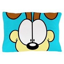 Odie Face Time Pillow Case