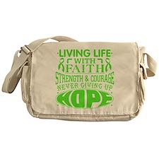 Non-Hodgkins Lymphoma Faith Messenger Bag