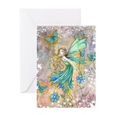 Enchanted Garden Fairy Fantasy Art Greeting Cards