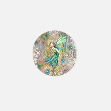 Enchanted Garden Fairy Fantasy Art Mini Button