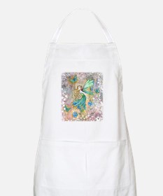Enchanted Garden Fairy Fantasy Art Apron
