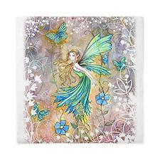 Enchanted Garden Fairy Fantasy Art Queen Duvet