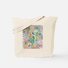 Enchanted Garden Fairy Fantasy Art Tote Bag