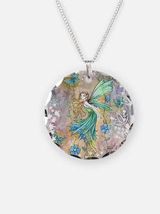 Enchanted Garden Fairy Fantasy Art Necklace