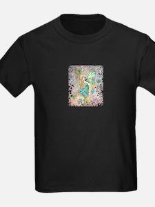 Enchanted Garden Fairy Fantasy Art T-Shirt