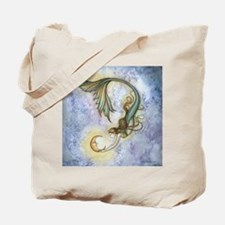 Deep Sea Moon Mermaid Fantasy Art Tote Bag