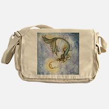 Deep Sea Moon Mermaid Fantasy Art Messenger Bag