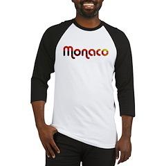 Monaco Sunset Type (Dark) Baseball Jersey
