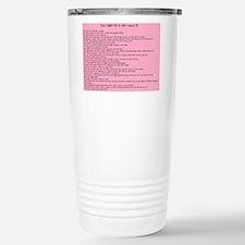 Unique Nicu nurse Travel Mug