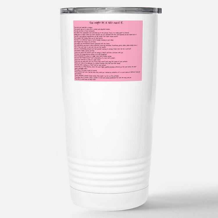 Cute Nicu nurse Travel Mug
