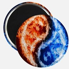 Fire And Water Yin Yang Magnets