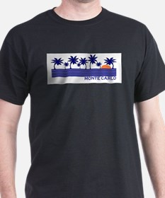 Monte Carlo Blue Sunset T-Shirt