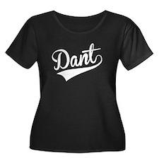 Dant, Retro, Plus Size T-Shirt