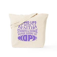 Hodgkins Lymphoma Faith Tote Bag