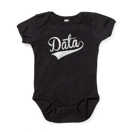 Data, Retro, Baby Bodysuit
