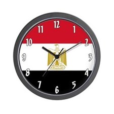 Flag of Egypt Wall Clock