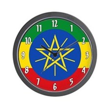 Flag of Ethiopia Wall Clock