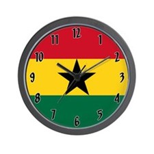 Flag of Ghana Wall Clock