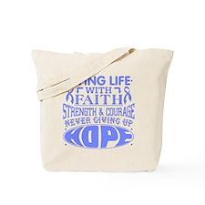 Esophageal Cancer Faith Tote Bag