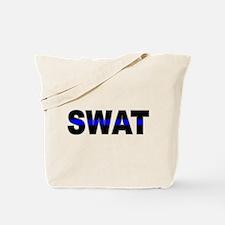 Blue Line SWAT Tote Bag