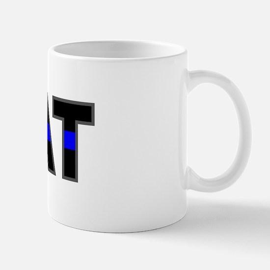 Blue Line SWAT Mug