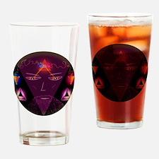 Cute Eek Drinking Glass