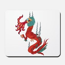 feathered dragon Mousepad
