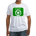 RECYCLE SYMBOL SHIRT TEE SHIR Fitted T-Shirt