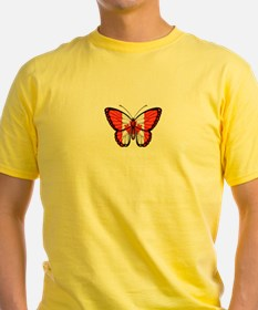 Canadian Flag Butterfly T-Shirt