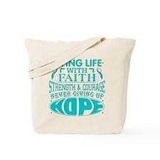 Cervical Cancer Faith Tote Bag