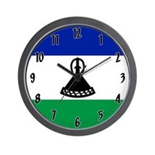 Flag of Lesotho Wall Clock