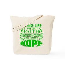 Bile Duct Cancer Faith Tote Bag