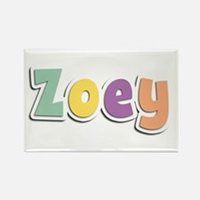 Zoey Spring14 Rectangle Magnet