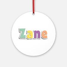 Zane Spring14 Round Ornament