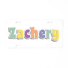 Zachery Spring14 Aluminum License Plate