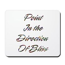 Point Direction Design #388 Mousepad