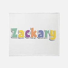 Zackary Spring14 Throw Blanket