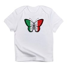 Italian Flag Butterfly Infant T-Shirt