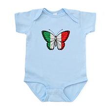 Italian Flag Butterfly Body Suit
