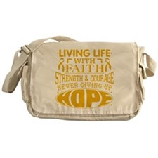 Appendix Cancer Faith Messenger Bag