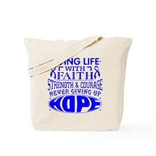 Anal Cancer Faith Tote Bag