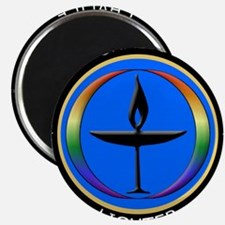 "Funny Unitarian universalist 2.25"" Magnet (10 pack)"