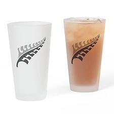 Tattoo silver fern (New Zealand kiwi emblem) Drink