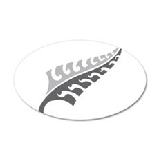 Tattoo silver fern (New Zealand kiwi emblem) Wall