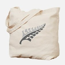 Tattoo silver fern (New Zealand kiwi emblem) Tote